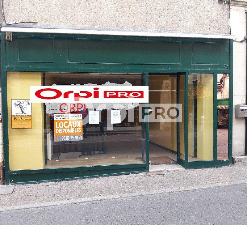Local commercial à louer 90m2 à Nevers