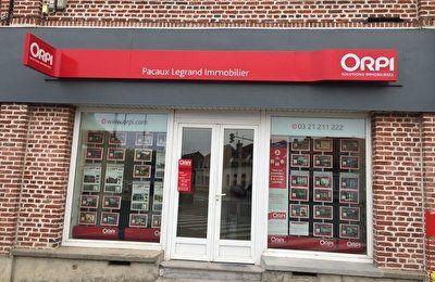 Agence Orpi Pacaux - Legrand Immobilier - ARRAS