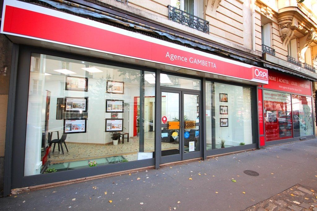 Agence immobili re paris agence gambetta paris orpi for Agence immobiliere paris