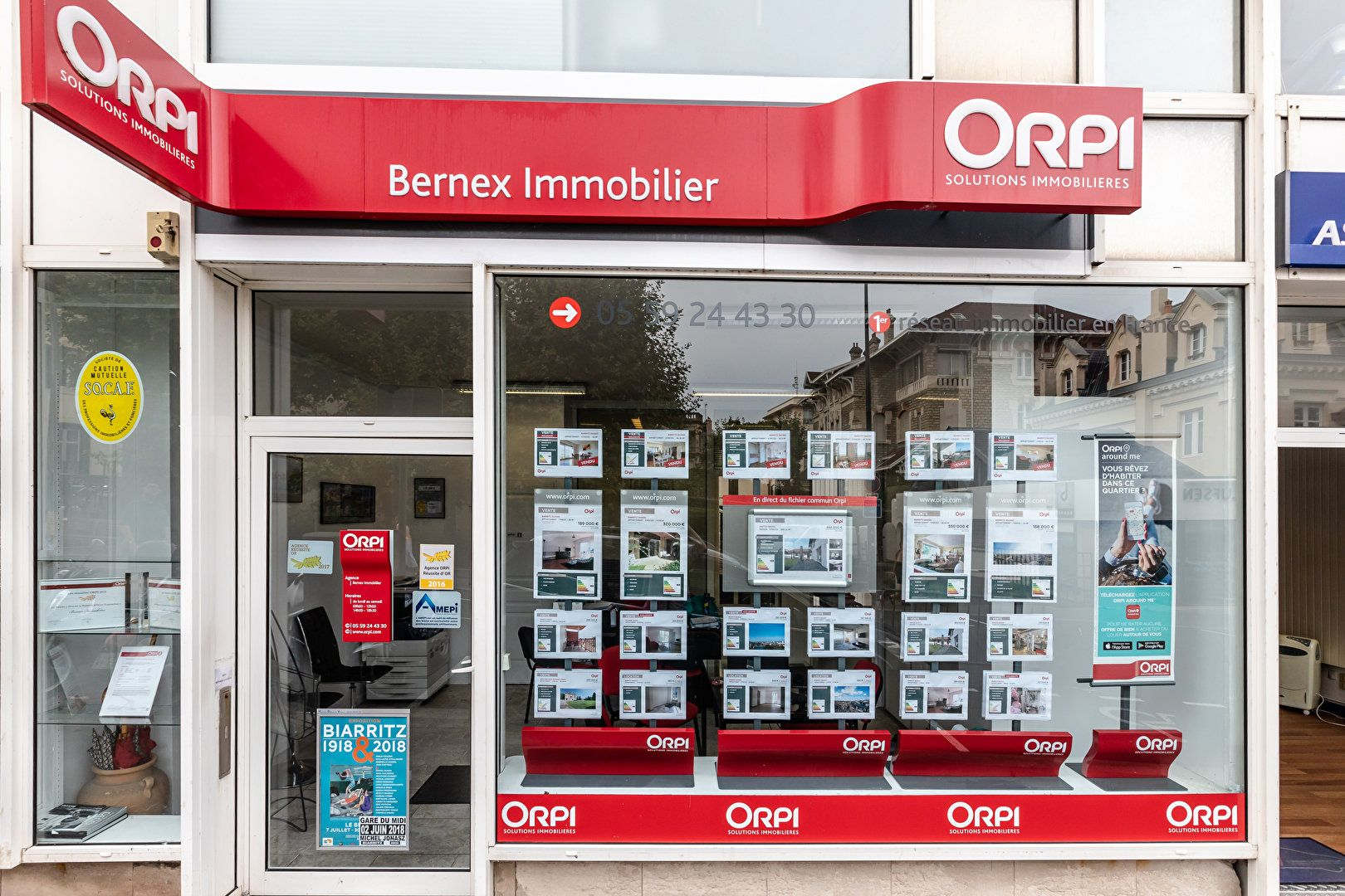 Agence immobili re biarritz bernex immobilier biarritz for Agence immobiliere 59