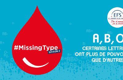 ORPI se mobilise à nouveau pour le don de sang avec l'opération #MissingType