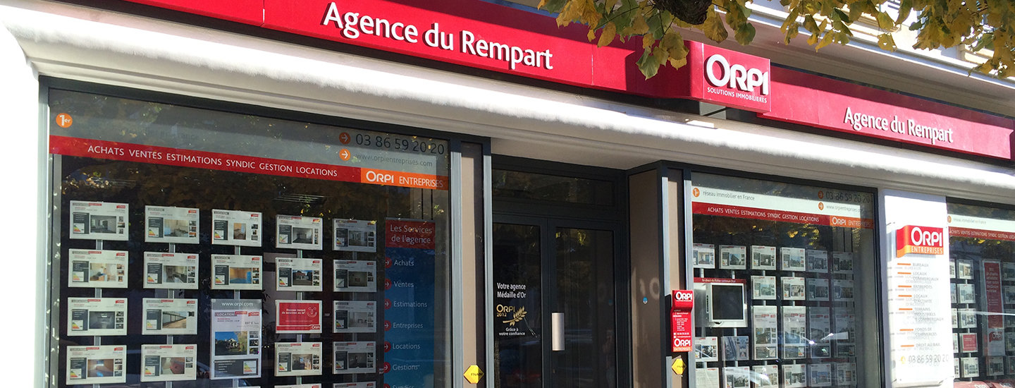 Agence immobili re nevers immobilier du rempart nevers for Agence orpi location