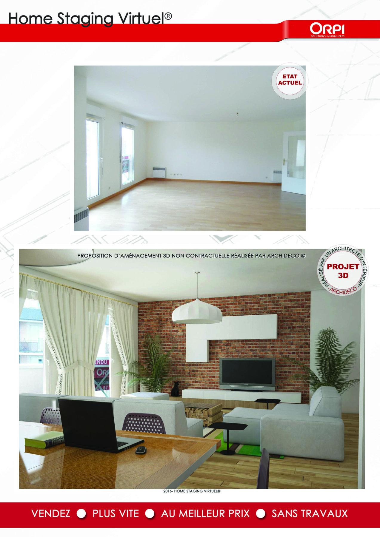 Agence Immobilière Home Staging nouveau* le home staging virtuel® arrive chez orpi