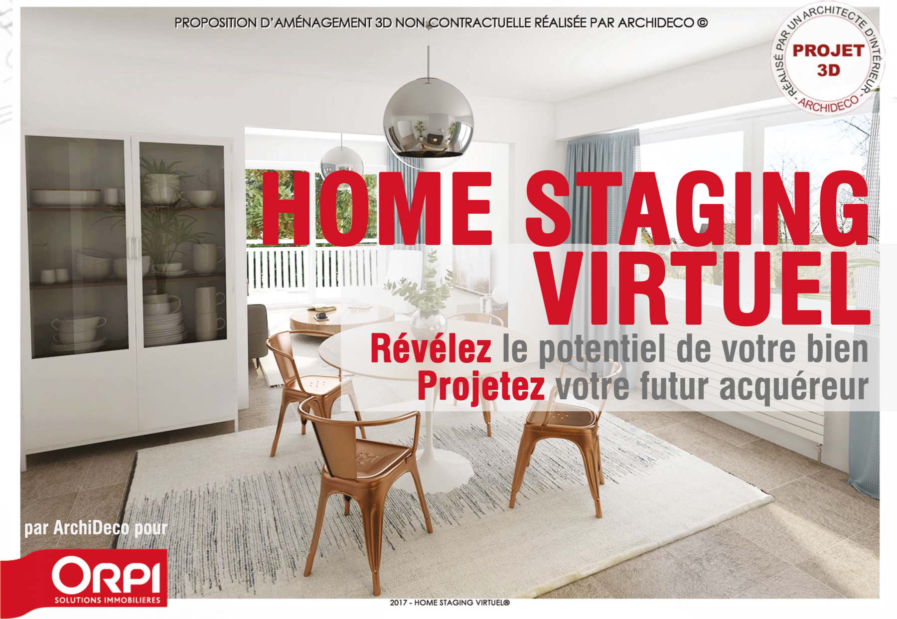 nouveau le home staging virtuel arrive chez orpi karine girod immobilier immobilier saint. Black Bedroom Furniture Sets. Home Design Ideas