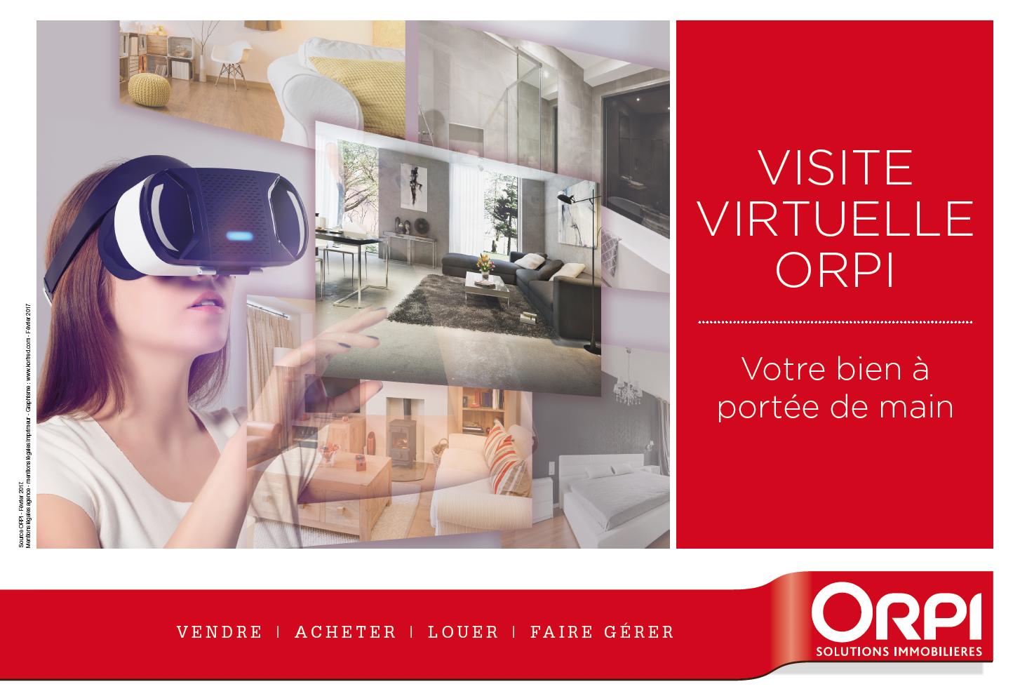 La visite virtuelle chez ORPI LE VOT