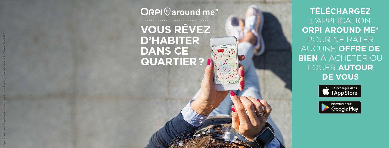 Around Me : la nouvelle appli d'ORPI