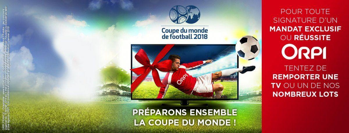 Du 15 février au 1er mai 2018 opération coupe du Monde