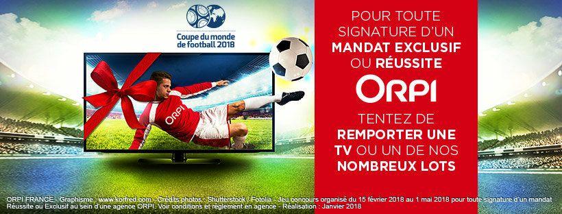 grand jeu concours ORPI coupe du monde