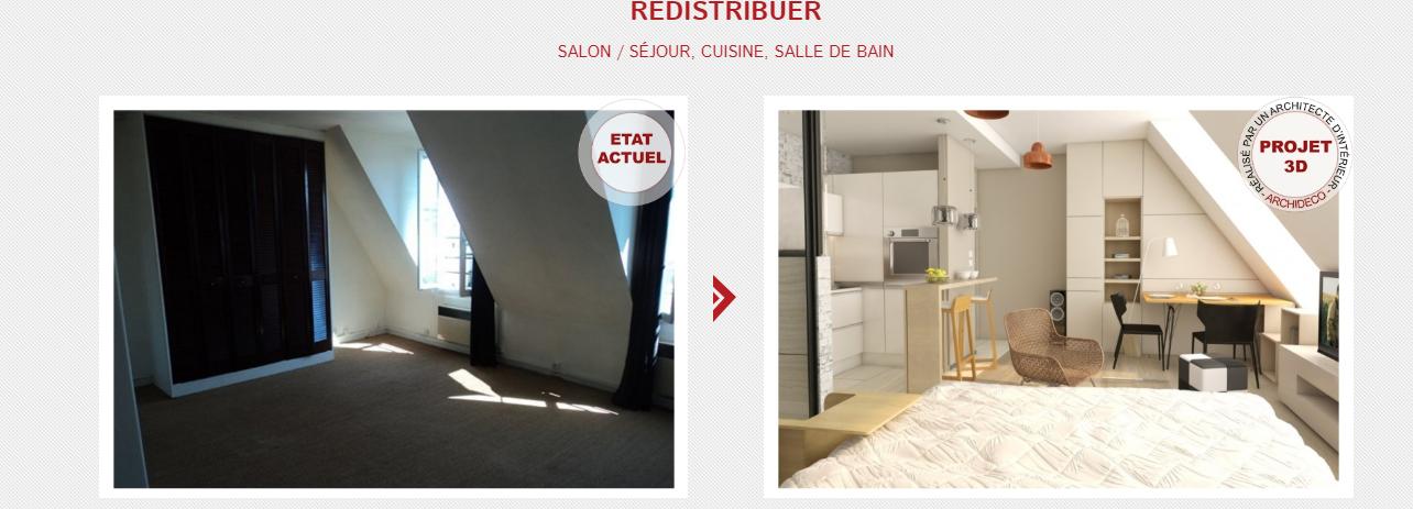 Le home staging virtuelle par orpi agence de la mairie
