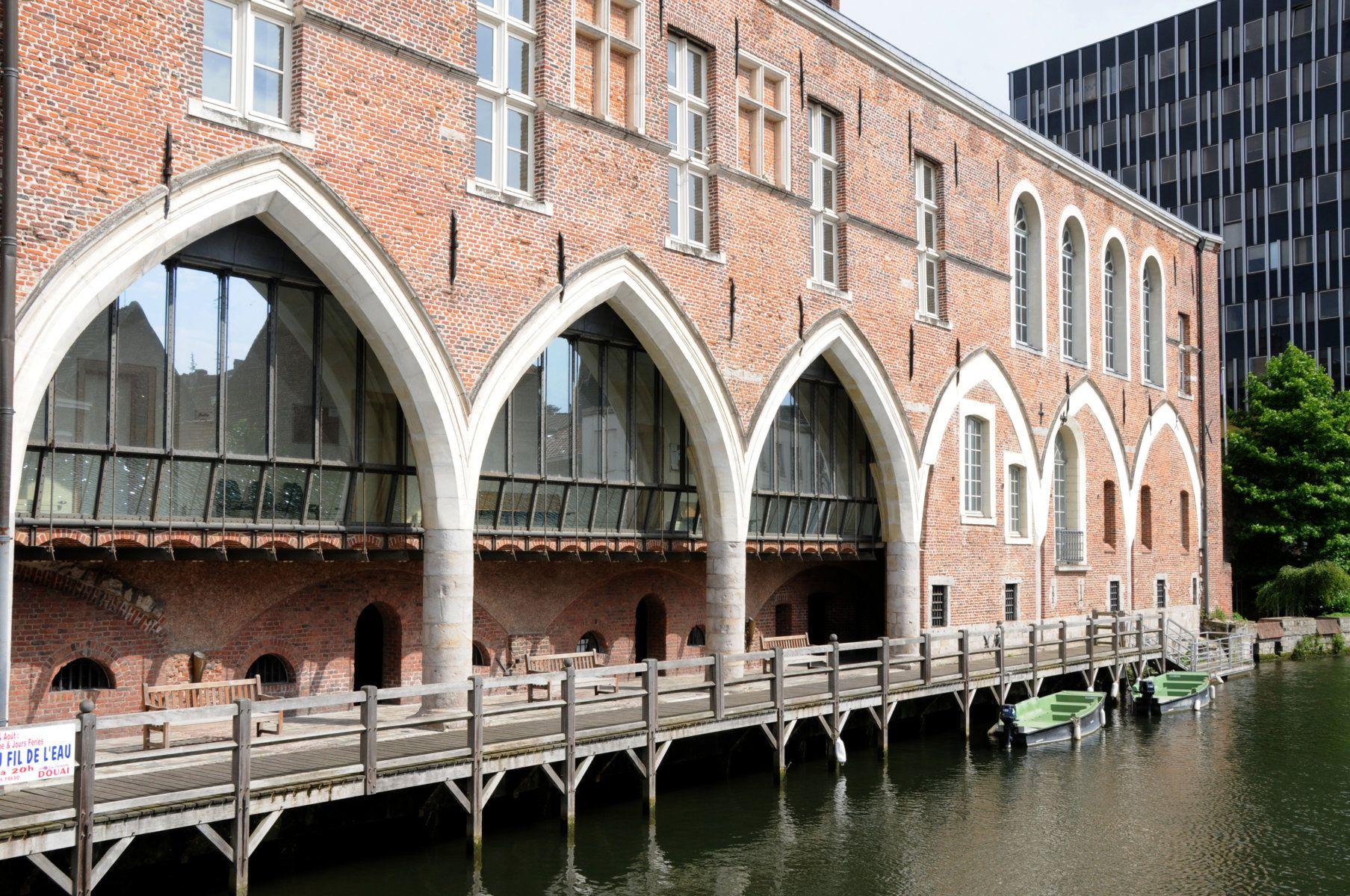 Canal de la Scarpe à Douai