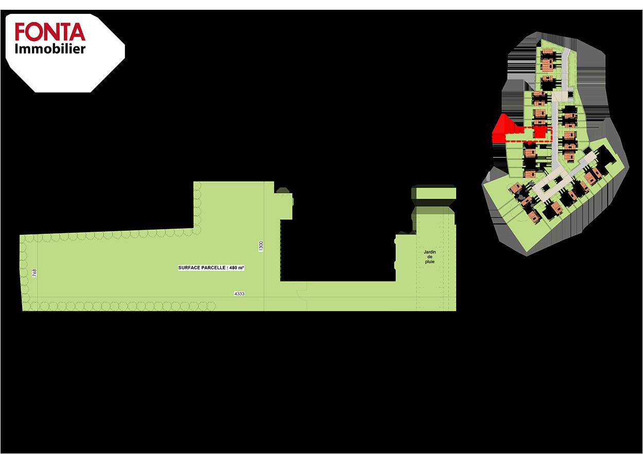 villa-numero-10-residence-jardins-de-flore-saint-sebastien-sur-loire-plans-parcellaire