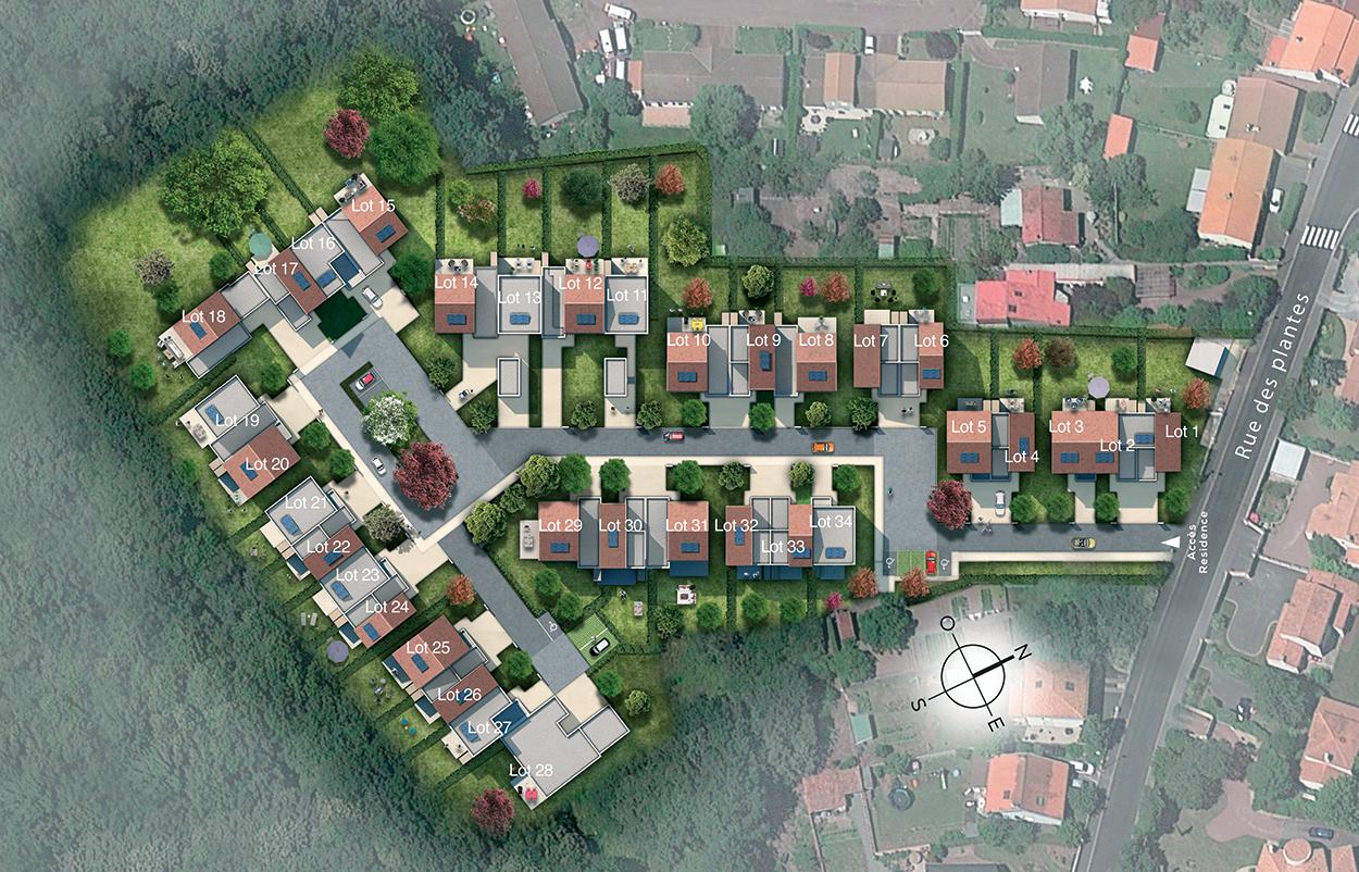 Les-villas-residence-les-jardins-de-flore-saint-sebastien-sur-loire-vue-du-ciel-3d