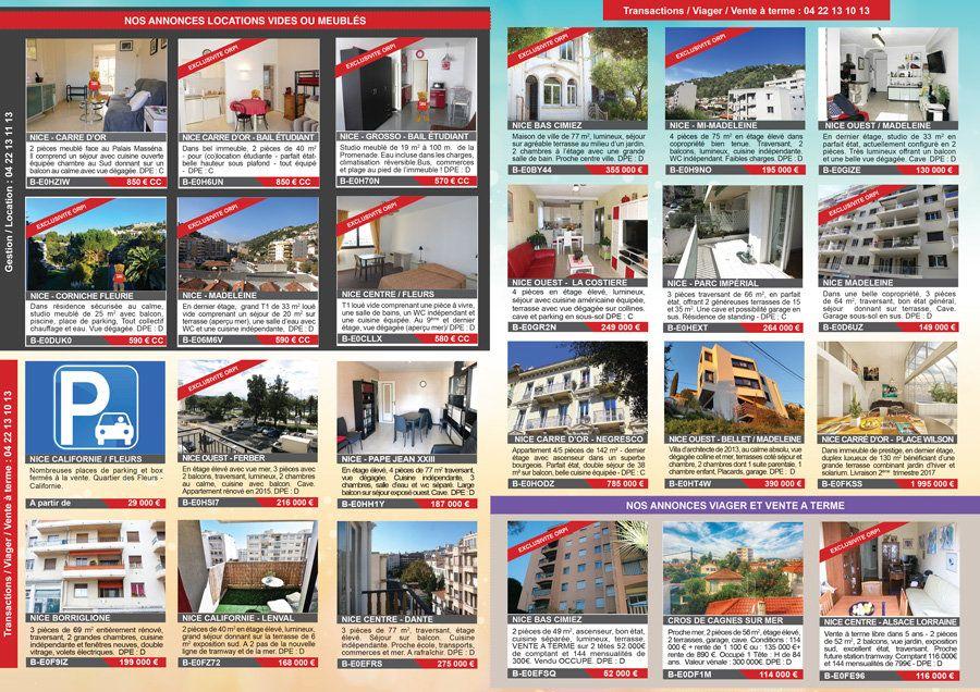 Notre journal mensuel de petites annonces alazard immo for Immobilier petites annonces
