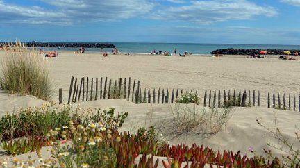 Les plages du Cap d'Agde