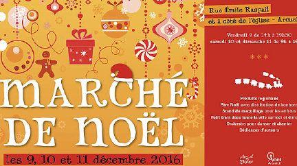 Le Marché de Noel d'Arcueil
