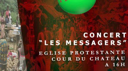 """CONCERT """"LES MESSAGERS"""" le 04.12.2016"""