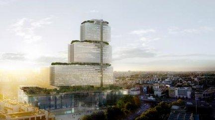 Le futur Palais de Justice de Paris