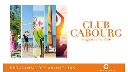 Club Cabourg du 11  juillet au  21 août